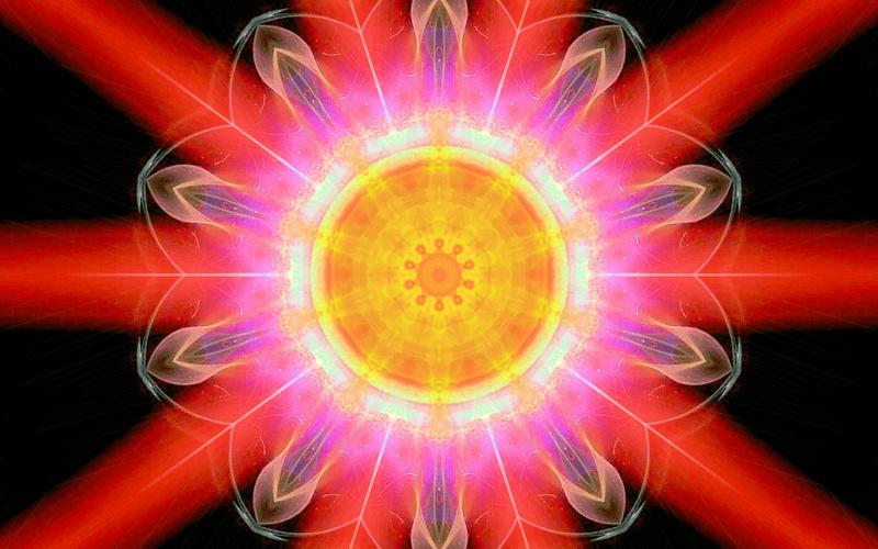 Burstinfg Sun
