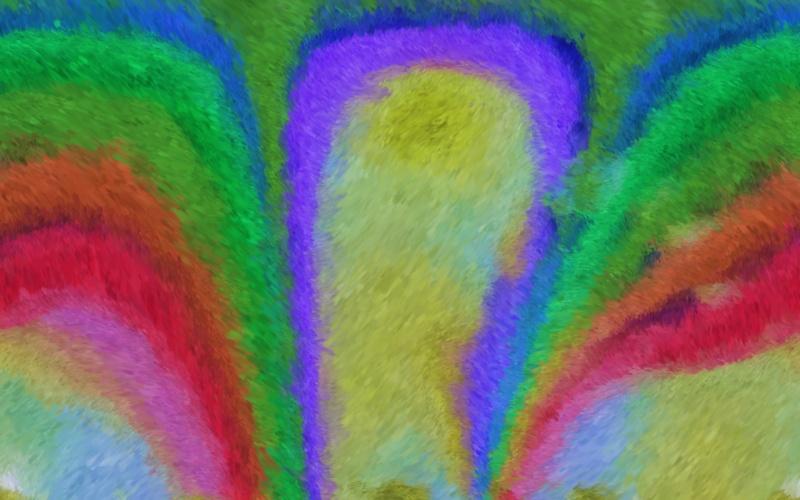 Impressionist Rainbow