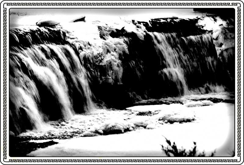 BW Water Falls