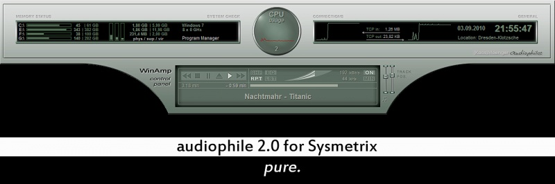 audiophile 2.0 for Sysmetrix