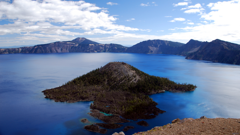 Wizard Island(Crater Lake)