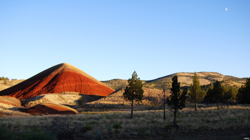 Red Hill (Painted Hills,Oregon)
