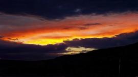 Rolling thunder sunset