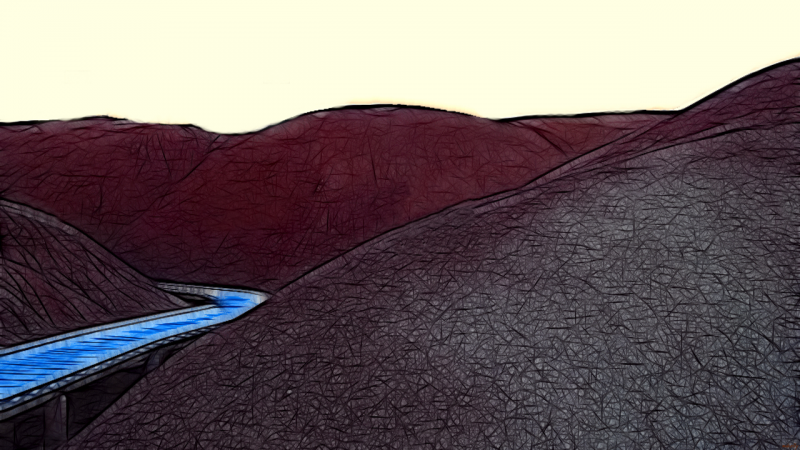 Path through the Painted Hills