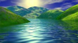 Springtime Lake