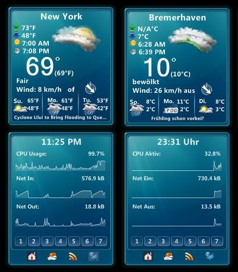 Weather 7 + MultiMeter 7