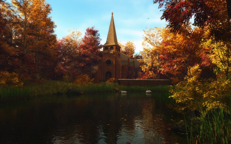 Autumn in Belgium