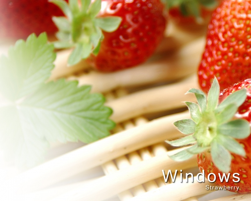 Windows Strawberry