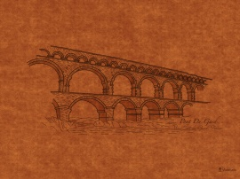 Bridges: Pont Du Gard, France