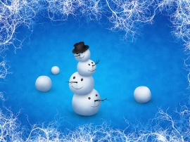 The Merry Snowman