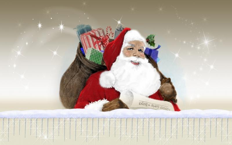 Christmas Vintage Santa