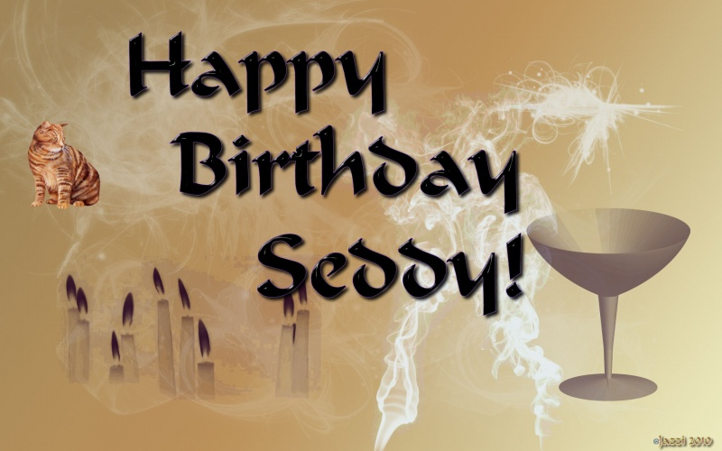 Happy Birthday Seddy!