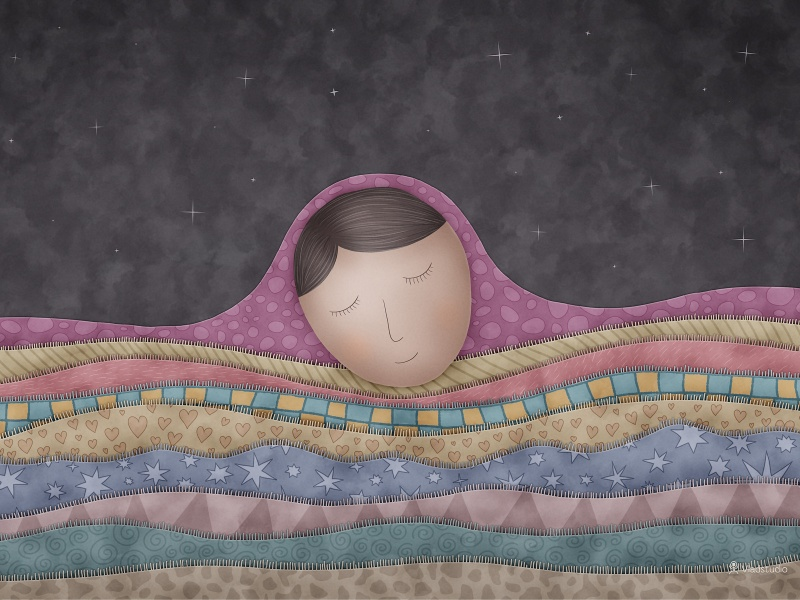 A Girl Under A Thousand Blankets