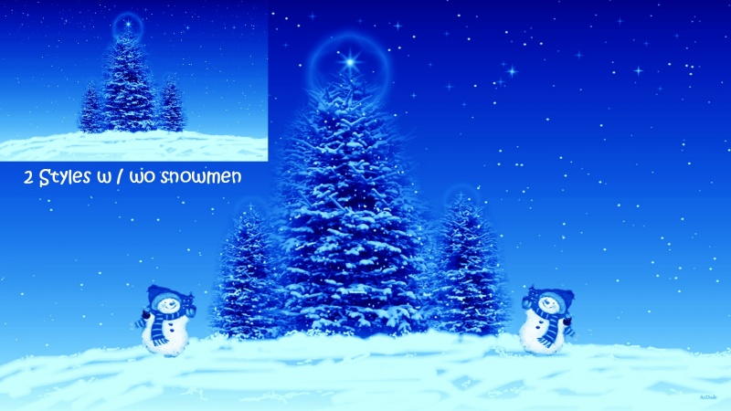 Blue Christmas Preview Logon