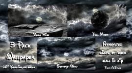 Space_Moon Walls 3pk
