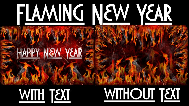 Flaming New Year