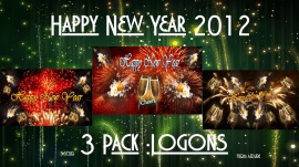 Happy New Year 3pk Logons