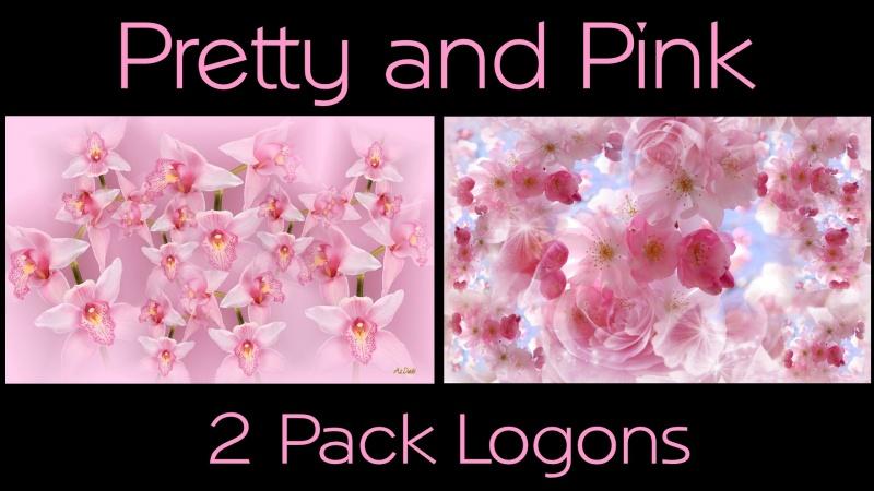 Pretty & Pink Logons