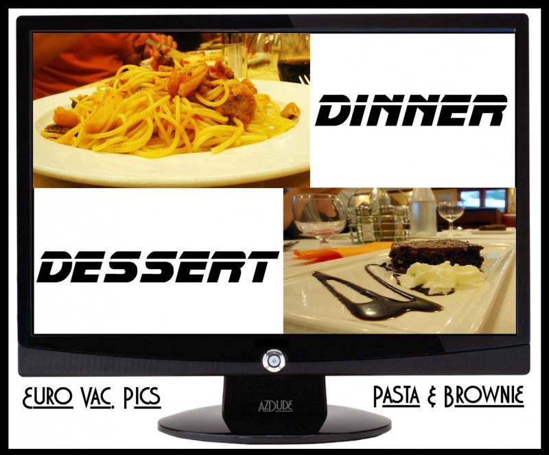 Dinner & Dessert Photo