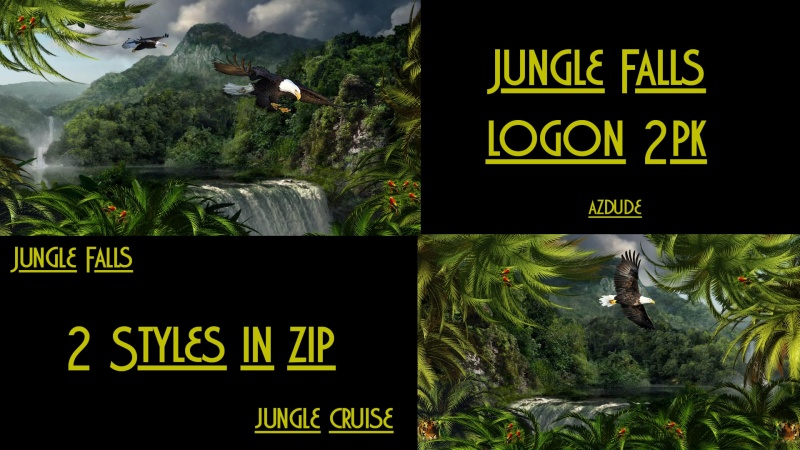 Jungle Falls Logons 2pk