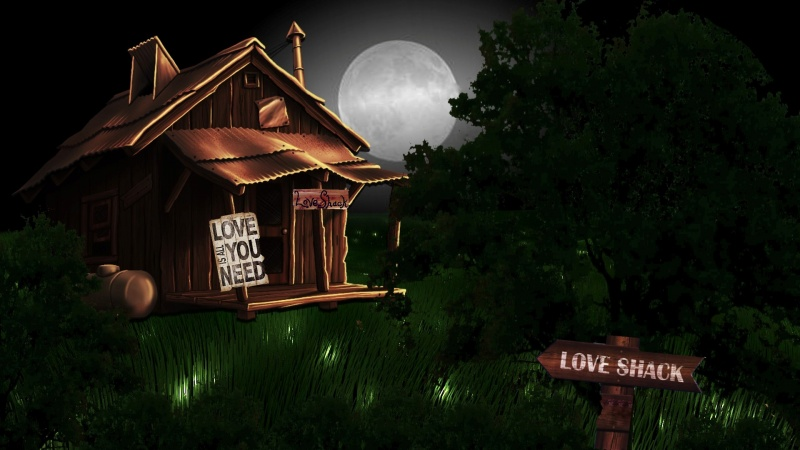 Love Shack Full Moon Logon