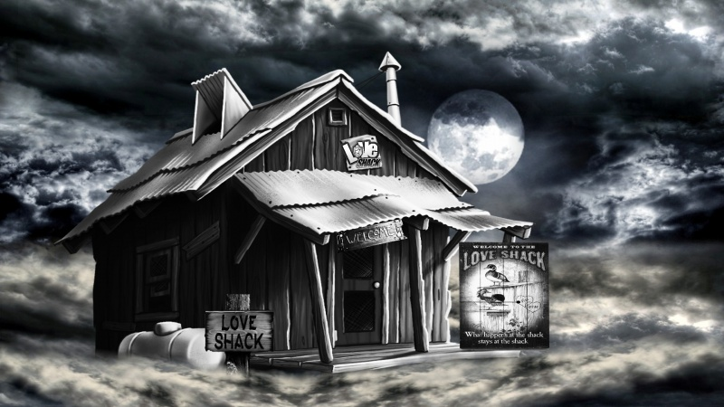 Love Shack Foggy Night