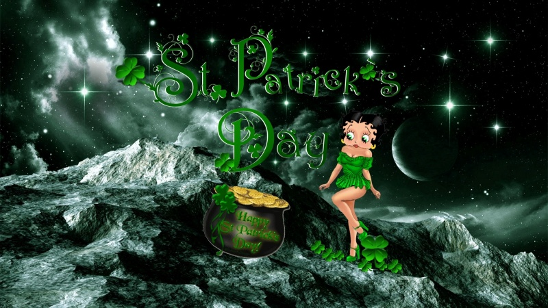 Happy St Patricks Day Logon