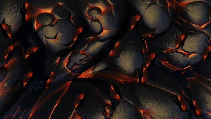 Hot Lava Bed Screensaver