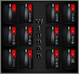 WinRAR Security Royal Red