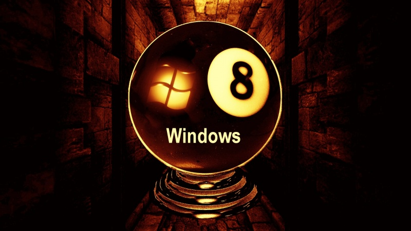 Windows 8 Glow Ball Logon