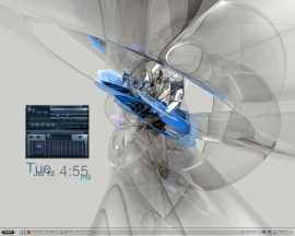 Transparent Desktop 2