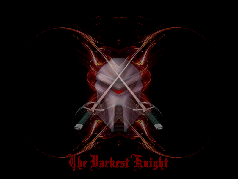 The Darkest Knight In (RED)
