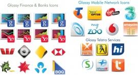 Glossy Australian Icons Mega Pack