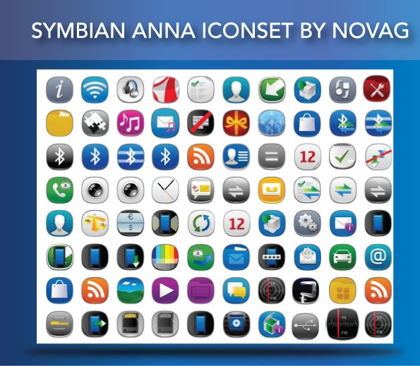 Symbian Anna Iconset