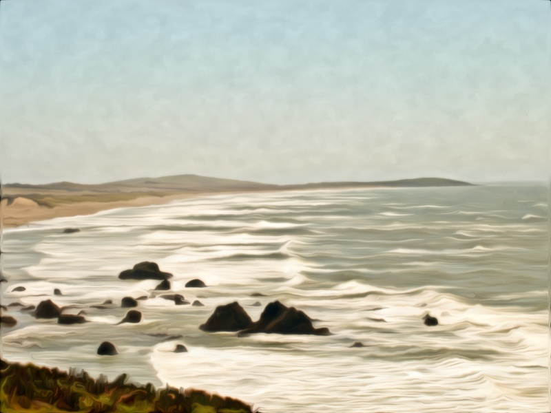 Pacific Coast-painted