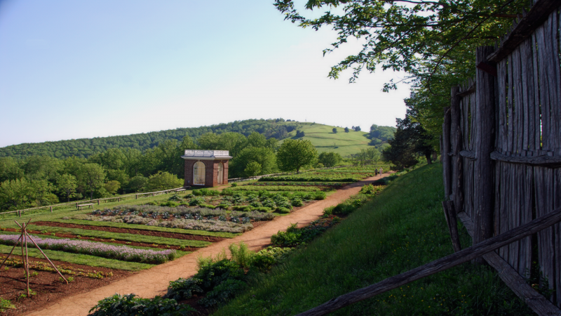 Gardens at Jefferson´s Monticello