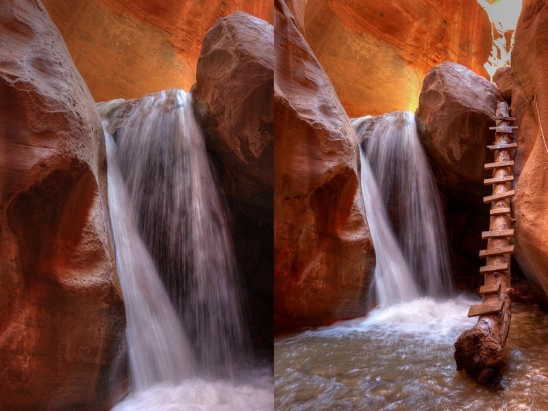 Slot Canyon Southern Utah II