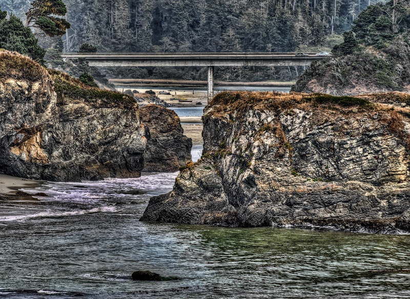 Mendocino Bridge
