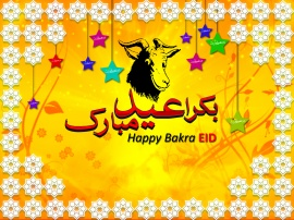 Happy Bakra Eid