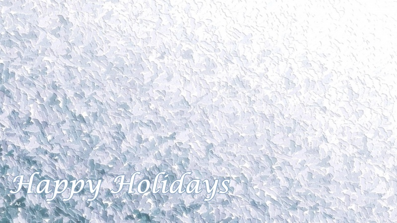 Happy Holidays ( ICE )