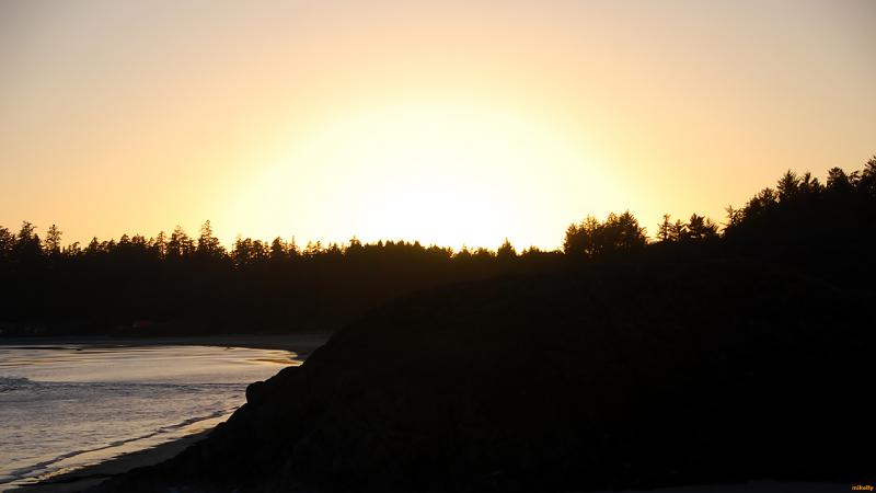 Sunset Beachside(Tofino,BC)