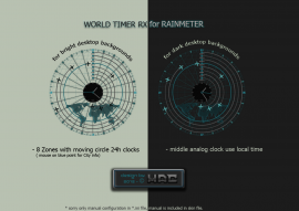 World Timer RX Radar
