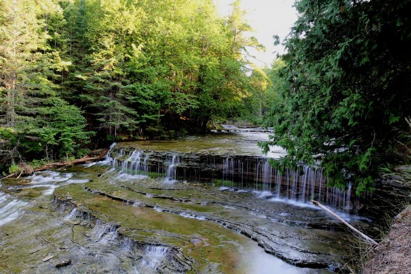 Autrain Falls, Munising Michigan