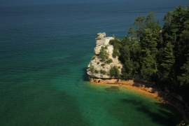 Miners Castle, Munising Michigan