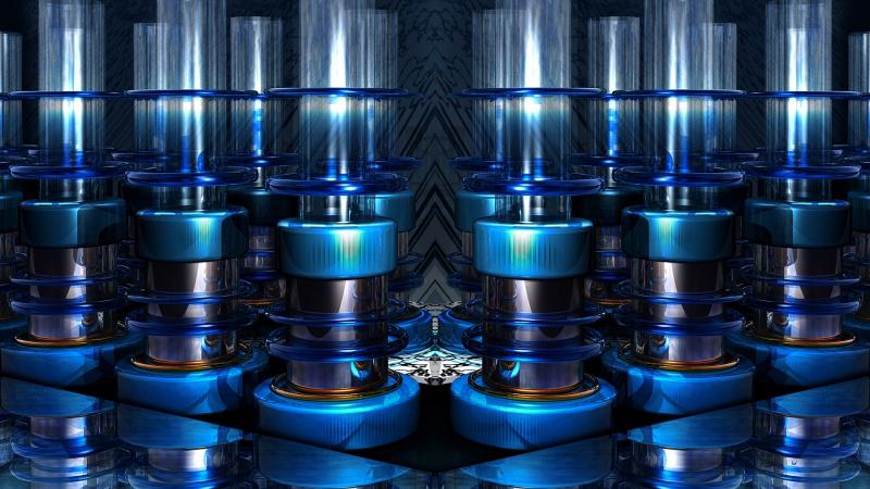 Blu Glass N TubeZ ORIG