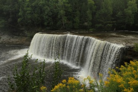 Upper Tahquamenon Falls, UP Michigan
