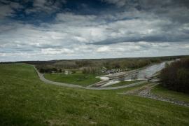 Saylorville Reservoir Dam Outflow, Des Moines Iowa