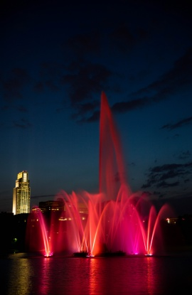 Heartland of America Park Fountain