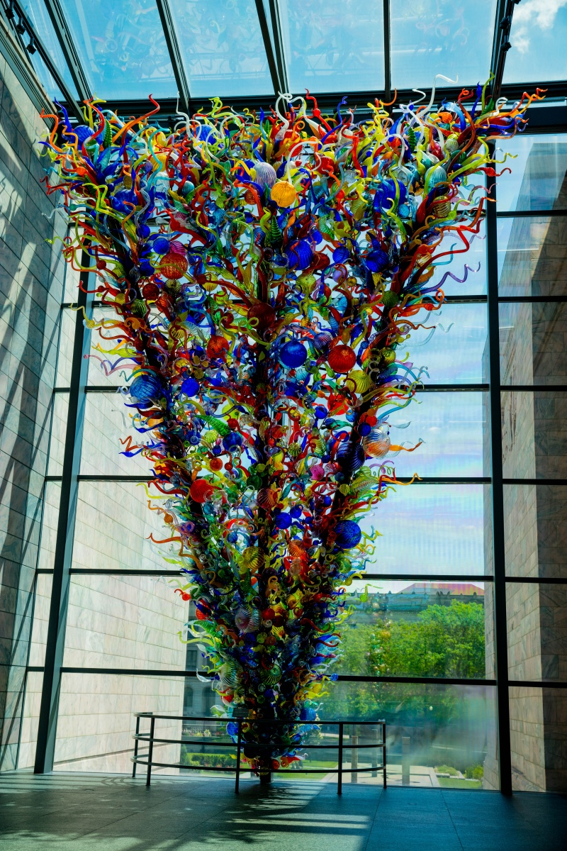 Glass Sculpture, Joslyn Art Museum, Omaha