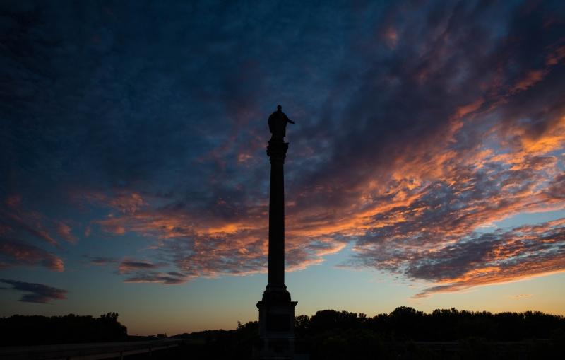 Prairie Du Chien Sunset